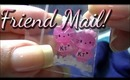 HUGE Latina Nails Friend Mail! + My New JVC Everio GZ-EX210BU ◦◕‿◕◦