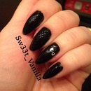Attitude Black Nails
