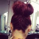 hair up kinda day ✌