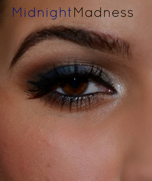 Smokey Blues and Brown Look