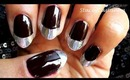 DIY Metallic french tip nails | tutorial