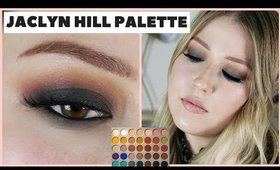 Fall Green Smokey Eye Tutorial | Jaclyn Hill x Morphe Palette