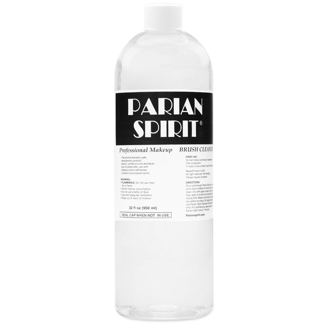 Parian Spirit Professional Makeup Brush Cleaner 32 oz alternative view 1 - product swatch.