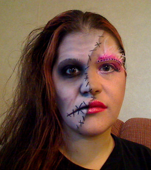 halloween Makeup - good vs bad