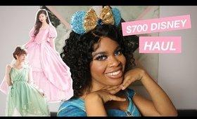 I SPENT OVER $700 ON DISNEY PRINCESS DRESSES (SECRET HONEY TRY ON HAUL)