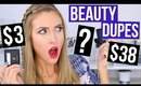 BEAUTY DUPES TESTED #3 || Drugstore Makeup DUPES?!