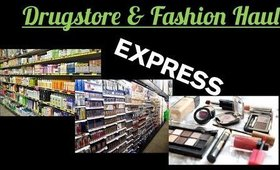 Drugstore Makeup & Fashion Haul | Angela Marie