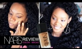 NARS ALL Day Luminous Weightless Foundation Review!