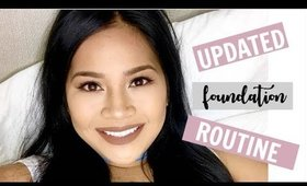 Updated Full Face Foundation+Contour & Highlight Routine  2017   makeupbyritz