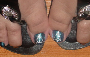Toes..  Deathly Hallows