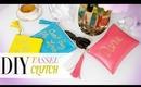 DIY Rebecca Minkoff Inspired Tassel Clutch - ANNEORSHINE