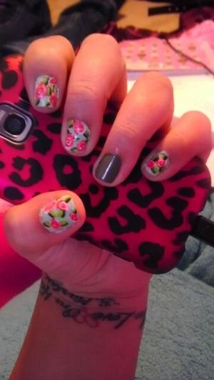 vintage nails <3