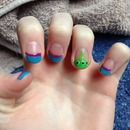 Toy Story Alien Nails :')
