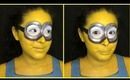 Despicable Me Minion Body Paint Tutorial