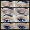 bronze smokey eye pictorial