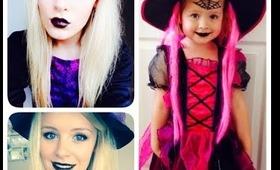 Witch Halloween Makeup Tutorial🎃| BeautyAvecEmie