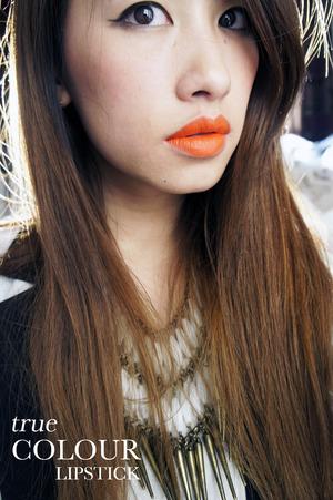 Orange Lipstick by Sleek Makeup in Tangerine Scream  More swatches on www.kakabeautyblog.com