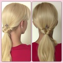 Super Easy Ponytail