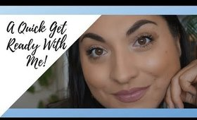 Get Ready With Me | New Make Up 2019