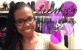 """TUTORIAL: Leeshy's """"Everyday Makeup"""""""