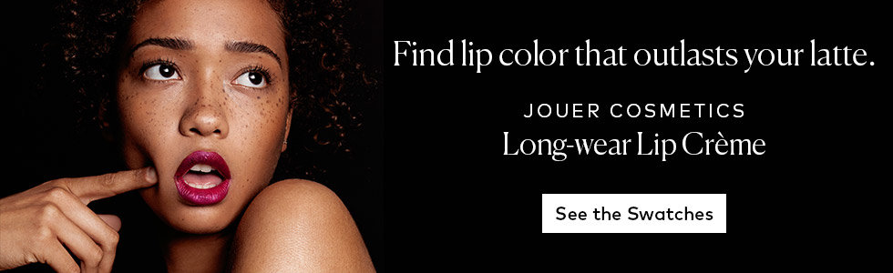 See Jouer Cosmetics Long-Wear Lip Crème Swatches