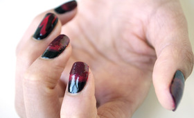 True Blood Nail Tutorial