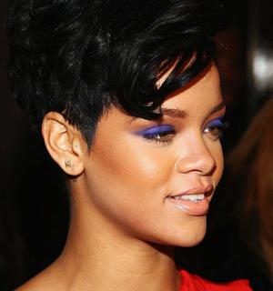 Rihanna's is a bit more vibrant.