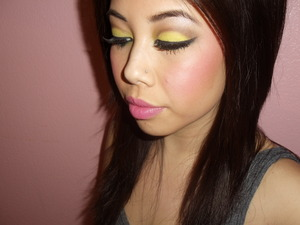 my rihanna-who's that chick inspired makeup