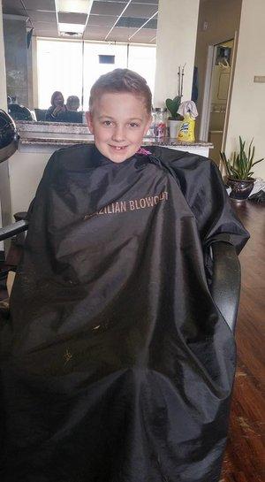 Hair cut by Christy Farabaugh