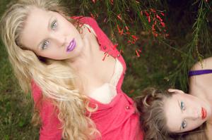MUA: http://muamartini.blogspot.com/ Models: Isabella Muller, Vanessa Pardo.