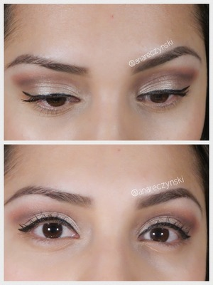 A twist on nude eyeshadow with a pop of pink!  Perfect for spring or any special occasion.