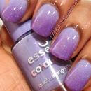 Purple, sparkly gradient