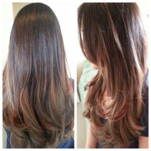 "I love my new hair colour .... Now it's not ""Ombrè"" it's ""Balayage"" these 2 are totally different!!"