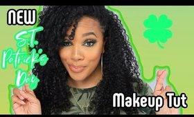 St Patricks Day Makeup | Juvias Place NoMad Pallet | @leiydbeauty