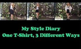 How I Style T-Shirts! Ft. Paramore T-Shirt