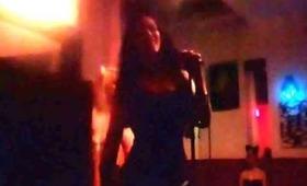 "Lady Zombie hosts & sings at Kitty Nights ""Wild Kingdom"" 1.20.13"