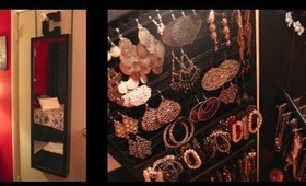 Jewelry Collection! - How I Organize my Jewelry! + Giveaway!
