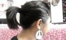 Quick and Easy Everyday Up-Do Hair Tutorial