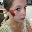 Blood makeup.