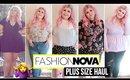 Fashion Nova Curve Haul - This One Was A Rollercoaster!