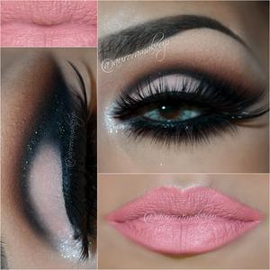 instagram: @auroramakeup FB: https://www.facebook.com/AuroraAmorPorElMaquillaje  LASHES/ PESTANAS: C188 by @eldorafalseeyelashes in top lashline /En la parte superior puse las C188 de Eldora False Eye Lashes , las encuentran en: http://www.eldorashop.co.uk/ si llegan a mexico por mexpost , asi las recibi e intactas   Flare Medium Black lashes by #CremeShop on bottom lashline Abajo aplique las Fare Medium Black de CREME   BROWS: Dip Brow Pomade in CHOCOLATE by @anastasiabeverlyhills CEJAS: Dip Brow Pomade en color CHOCOLATE de Anastasia Beverly Hills  EYE MAKEUP/ MAQUILLAJE DE OJOS:  Eye Shadows into LAVISH palette by @anastasiabeverlyhills Sombras usadas de la paleta LAVISH de Anastasia Beverly Hills  CREAM eyeshadow in brow bone / Sombra CREAM para el hueso de la ceja  ORANGE SODA as transition color after CREAM / Sombra ORANGE SODA como color de transition despues de CREAM  SIENNA blended on the crease and below lower lashes/ Sombra SIENNA difuminada en el pliegue y debajo de las pestanas inferiores.  BLACK DIAMOND marking socket line ,blended on outer side and lining bottom lashline/ Sombra BLACK DIAMOND marcando el globo ocular , difuminado al final del ojo y delineando pestanas inferiores  BALLET on mobile eyelid / Sombra BALLET en el parpado movil  COVET waterproof Eyeliner in NOIR on waterline/ Delineador resistente al agua negro NOIR en la linea del agua  Gel eyeliner in LITTLE BLACK DRESS by @motivescosmetics lining top lashes/ Gel delineador negro LITTLE BLACk DRESS de Motives Cosmetics delineando las pestanas superiores  Eye Shadow Base by @motivescosmetics / Prebase de sombras de Motives Cosmetics  Paint Pot Mineral Eye shadow in MARSHMALLOW by @motivescosmetics on inner corner / Pigmento mineral blanco MARSHMALLOW de Motives Cosmetics en la esquina interna del ojo  Lentes de contacto Dueba Barbie Tony en color YELLOW Lenses DUEBA BARBIE TONY in YELLOW