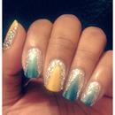 Disco Nails!!