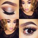 Silver and Brown Smokey Eye 💋