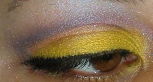 Eyes: Geek Chic Cosmetics Yellow EOTD