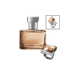 mark. Sophistique Fragrance & Ring Duo