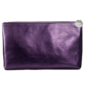mark Midi Glam Cosmetic Bag It's all in the details  $10.00  Not just a pretty case, this metallic purple cosmetic bag is perfectly sized for keeping your everyday beauty arsenal organized and will fit comfortably inside a gym or tote bag. Faux leather. 1