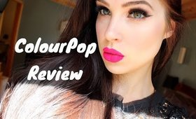 ColourPop Cosmetics Ultra Matte Lipstick Review | MorganEstALaMode
