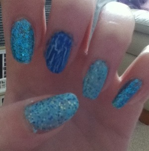 Guys just ask for tutorial on how to do these beautiful nails Xo