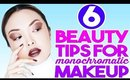 6 Beauty Tips For Monochromatic Makeup!
