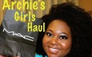 MAC Archie's Girls Event & Lipstick Haul